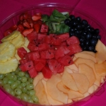 Party Animals Jumping Castels offers Fruit Platters003