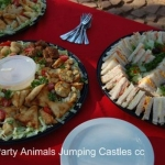 Party Animals Jumping Castels offers Savoury Platters005