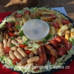 Party Animals Jumping Castels offers Savoury Platters009