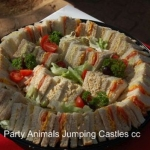 Party Animals Jumping Castels offers Savoury Platters012