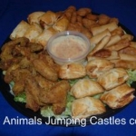 Party Animals Jumping Castels offers Savoury Platters020