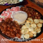 Party Animals Jumping Castels offers Savoury Platters003