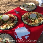 Party Animals Jumping Castels offers Savoury Platters014