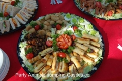 Party Animals Jumping Castels offers Savoury Platters008
