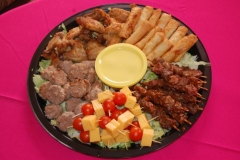 Party Animals Jumping Castels offers Savoury Platters027