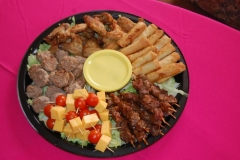 Party Animals Jumping Castels offers Savoury Platters030