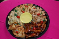 Party Animals Jumping Castels offers Savoury Platters031