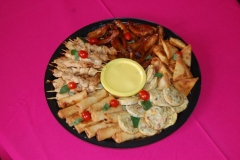 Party Animals Jumping Castels offers Savoury Platters034