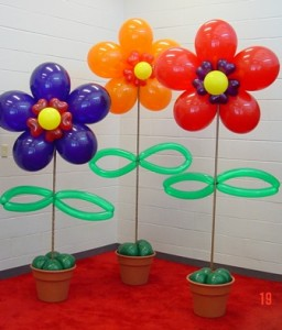 Balloon Table Décor