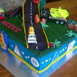 Boy themed Cakes002