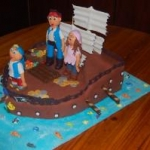 Boy themed Cakes010