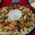 Party Animals Jumping Castels offers Savoury Platters007