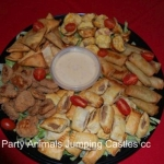 Party Animals Jumping Castels offers Savoury Platters018