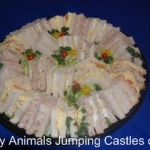 Party Animals Jumping Castels offers Savoury Platters024