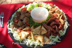 Party Animals Jumping Castels offers Savoury Platters013