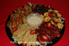 Party Animals Jumping Castels offers Savoury Platters016