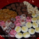 Party Animals Jumping Castels offers Sweet Platters007