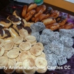 Party Animals Jumping Castels offers Sweet Platters020