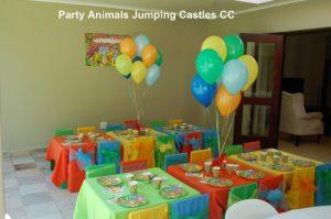 Jungle Party Setup