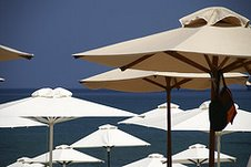 Patio Type Parasol Umbrellas