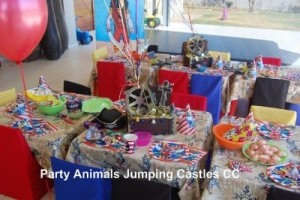 Pirate Party Setup