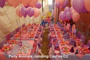 Princess Party Setup