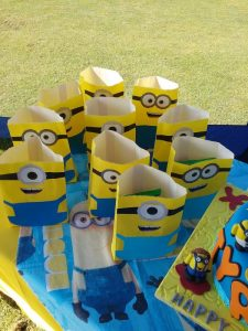 Party Animals Jumping Castles Minions Birthday Party Packs