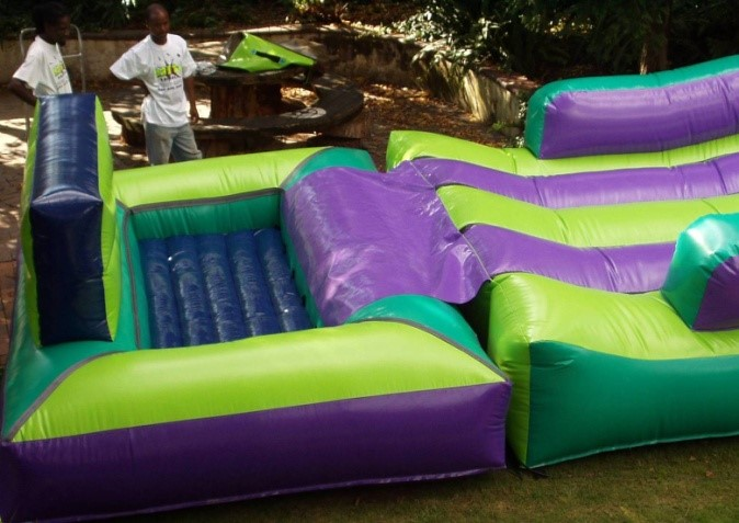Extreme Gladiator and Pool Extension_2_Fun_4_Party_Animals_For_all_your_Jumping_Castles_and_party_hire_needs