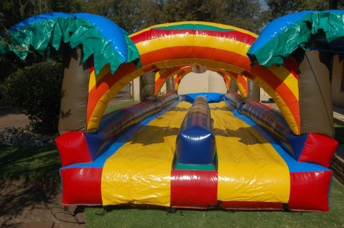 12m Double Lane Waterslides_5_Fun_4_Party_Animals_For_all_your_Jumping_Castles_and_party_hire_needs