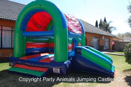 Medium Slide Castle 1 Fun 4 Party Animals For all your Jumping Castles and party hire needs