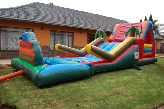Island Adventure 1 Fun 4 Party Animals For all your Jumping Castles and party hire needs