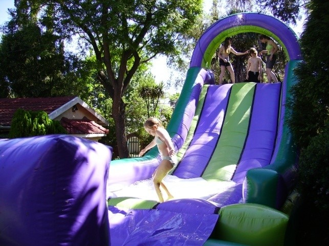 Extreme Gladiator and Pool Extension_1_Fun_4_Party_Animals_For_all_your_Jumping_Castles_and_party_hire_needs