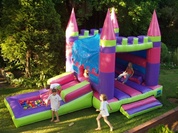 Princess Slide Ball Castle 1 Fun 4 Party Animals For all your Jumping Castles and party hire needs