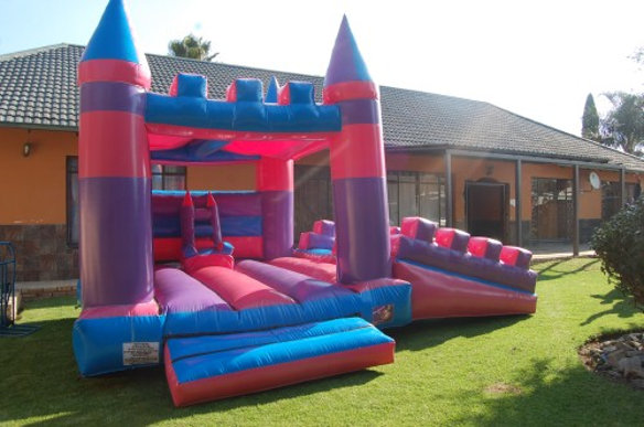 Princess Double Slide 1 Fun 4 Party Animals For all your Jumping Castles and party hire needs