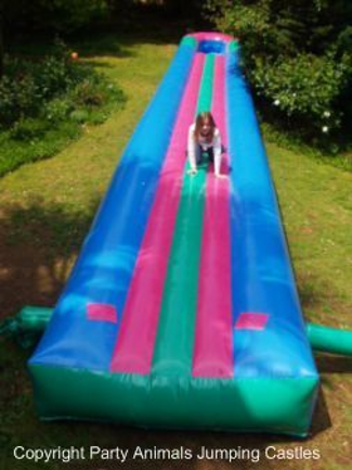 12m Waterslides_1_Fun_4_Party_Animals_For_all_your_Jumping_Castles_and_party_hire_needs